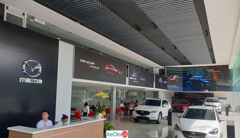 Cơ sở vật chất tại Mazda Ninh Bình