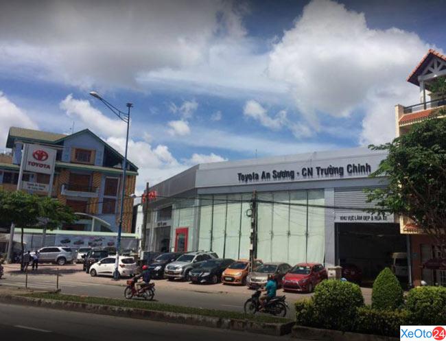 Đại lý Toyota An Sương chi nhánh Trường Chinh