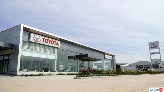 Đại lý Toyota Bắc Giang