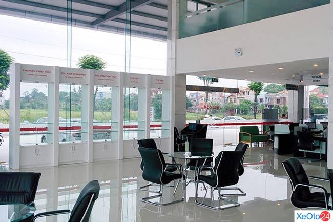 Đại lý Toyota Bắc Ninh được đầu tư với số vốn lên tới 2,2 triệu USD.
