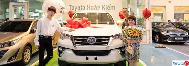 Đại lý ô tô Toyota Hoàn Kiếm cung cấp các dịch vụ xe Toyota chính hãng