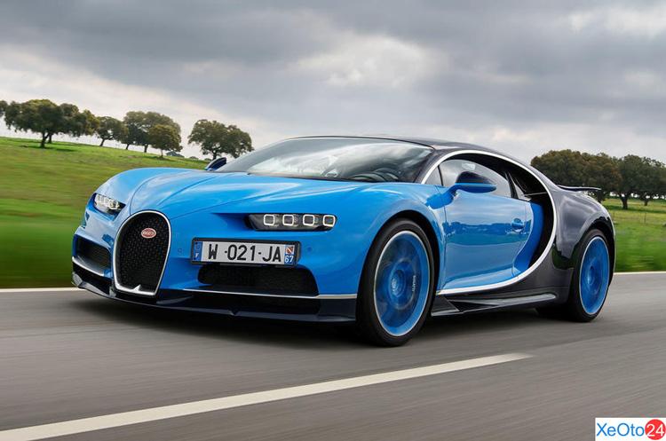 Đầu xe Bugatti Chiron
