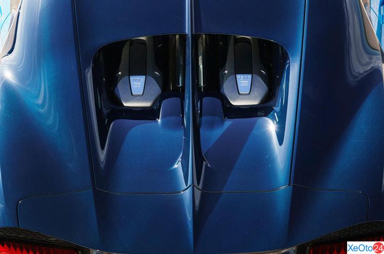 Động cơ xe Bugatti Chiron