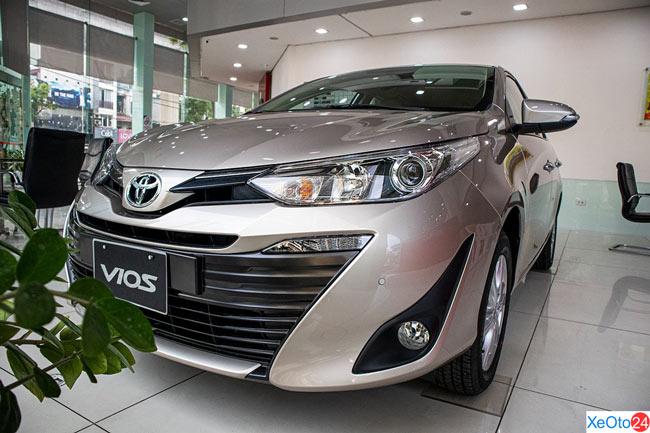 Dòng xe Toyota Vios 2020