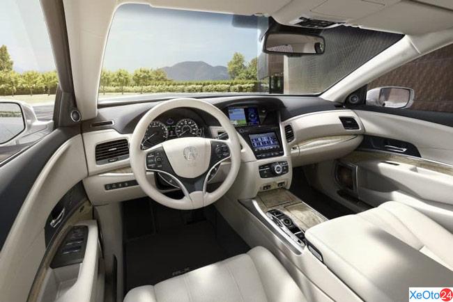 Hàng ghế lái xe Acura RLX 2020