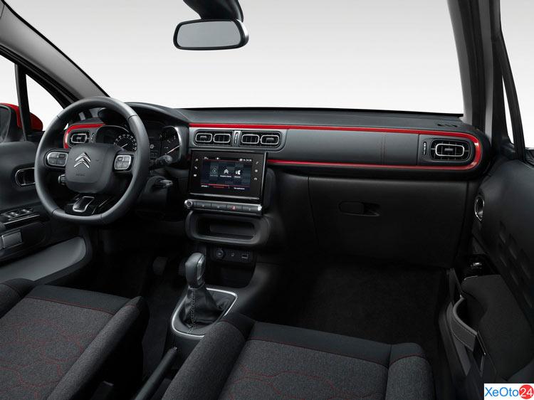 Hàng ghế lái xe Citroem C3