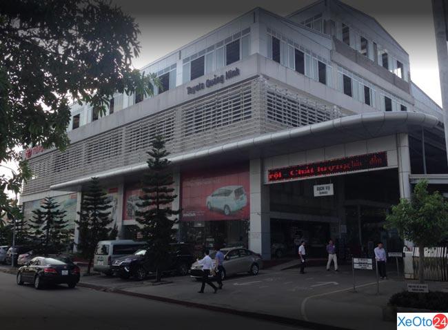 Hệ thống Toyota tại tỉnh Quảng Ninh