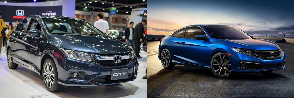 Honda City hay Honda Civic
