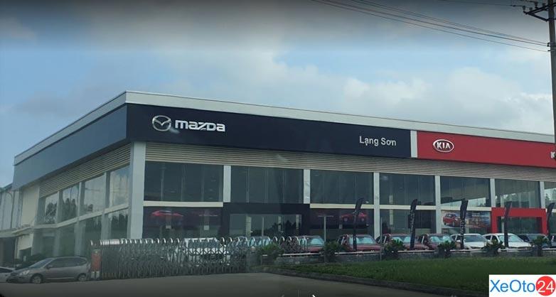 Mazda Lạng Sơn – Mazda Phường Đông Kinh có vị trí thuận lợi