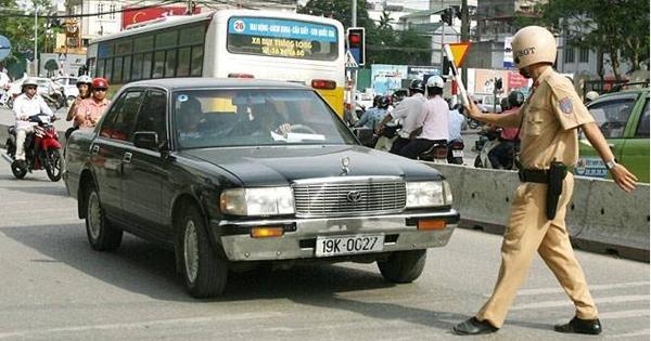 Mức phạt đối với ô tô vị phạm tốc độ