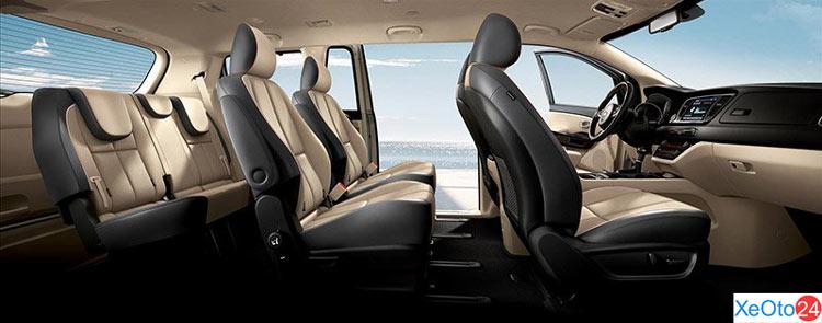 Nội thất sang trọng xe Kia Sedona 2020
