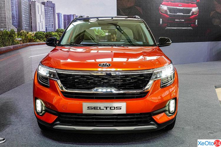 Phần đầu xe Kia Seltos 2020