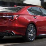 Phần đuôi xe Acura RLX 2020