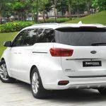 Phần đuôi xe Kia Sedona 2020