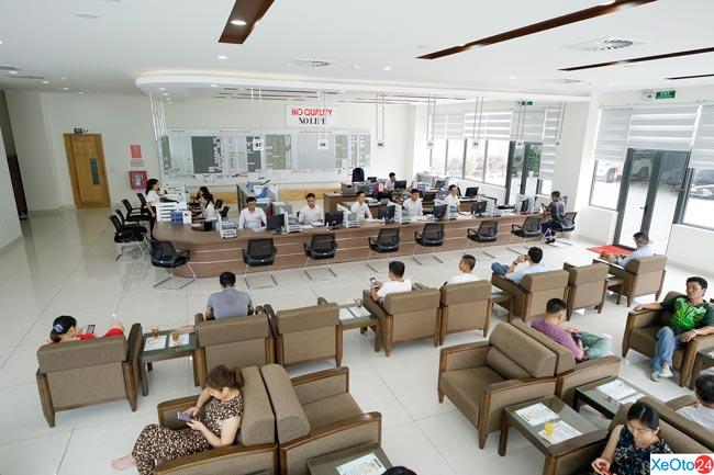 Phòng chờ khách hàng