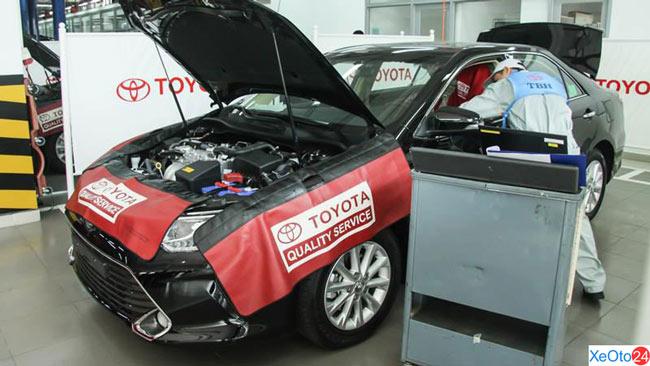 Quy trình bảo dưỡng ô tô tại Toyota Nam Định đạt tiêu chuẩn quốc tế