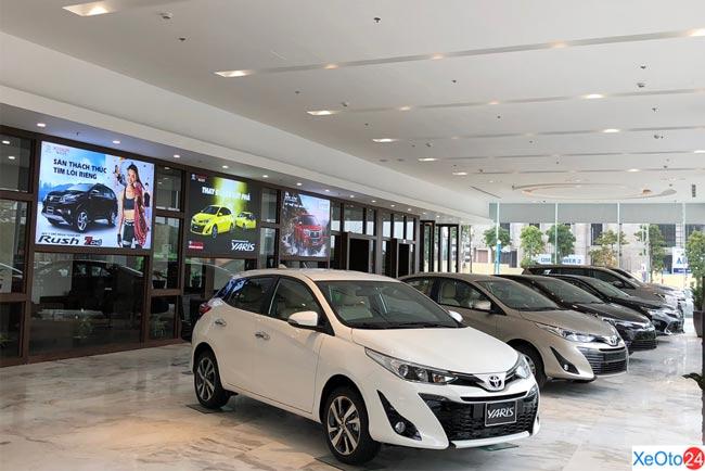 Showroom Toyota Pháp Vân có đa dạng các loại mẫu mã xe