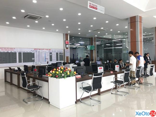 Showroom Toyota Cẩm Phả