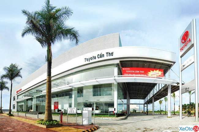 Showroom Toyota Cần Thơ - Chi nhánh An Giang