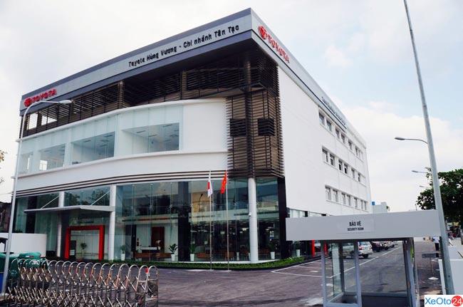 Toàn cảnh Toyota Hùng Vương – Chi nhánh Tân Tạo