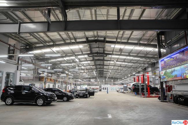 Toàn cảnh hệ thống cơ sở vật chất của Toyota Đông Sài Gòn - Quận 9