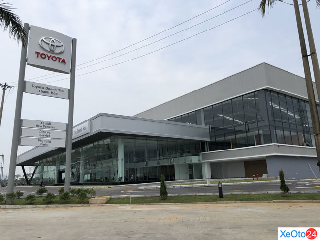 Tổng quan đại lý Toyota Thanh Hóa