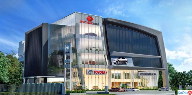 Toyota Hà Tĩnh có tổng vốn đầu tư lên tới 7,5 triệu USD