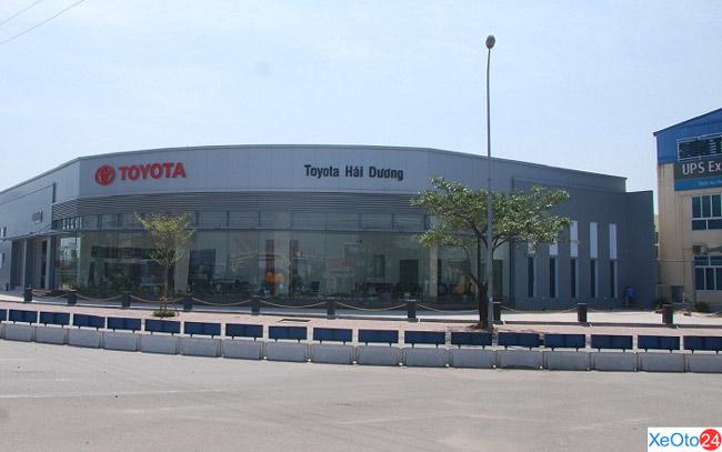 Toyota Hải Dương có diện tích khoảng 7000 m2