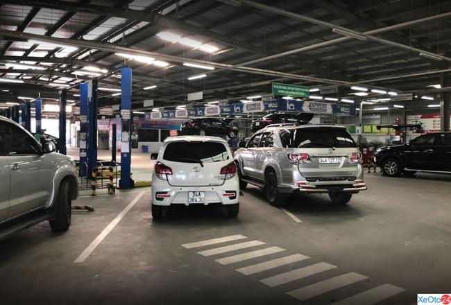 Toyota Hải Dương đáp ứng đầy đủ các tiêu chuẩn quốc tế