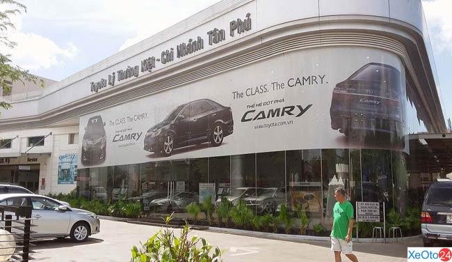 Toyota Lý Thường Kiêt - Chi nhánh Tân Phú
