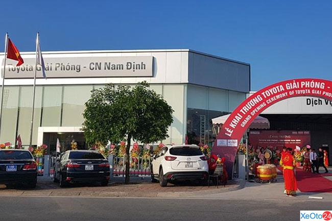 Toyota Nam Định là chi nhánh thuộc đại lý Toyota Giải Phóng