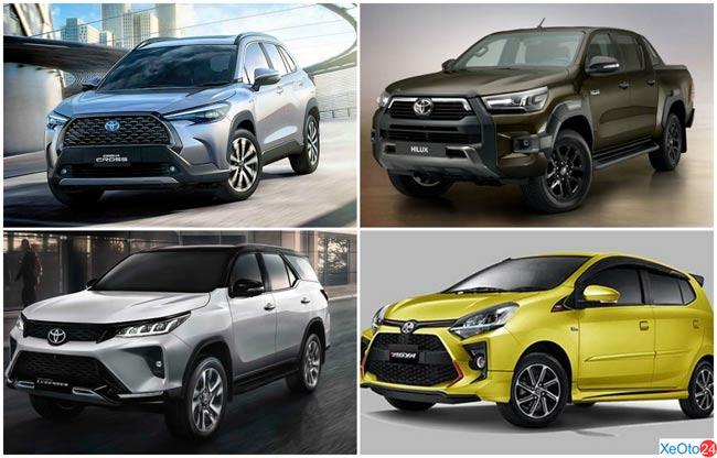 Toyota Thanh Xuân có đa dạng mẫu xe cho khách hàng dễ dàng lựa chọn