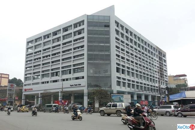 Toyota Thanh Xuân có địa chỉ tại 315 Trường Chinh, phường Phương Mai, quận Thanh Xuân, Hà Nội