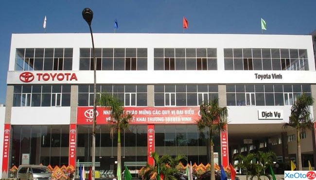 Toyota Vinh - Địa chỉ bán xe uy tín, chất lượng
