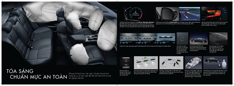 Trang bị an toàn Honda Accord 2020