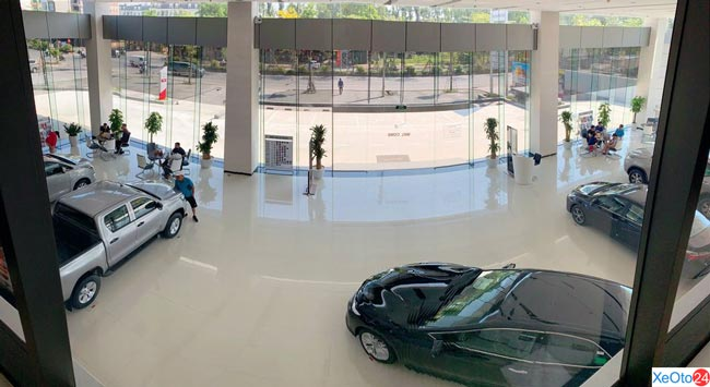 Vẻ đẹp mới, hiện đại và sang trọng tại Toyota IDMC Hoài Đức
