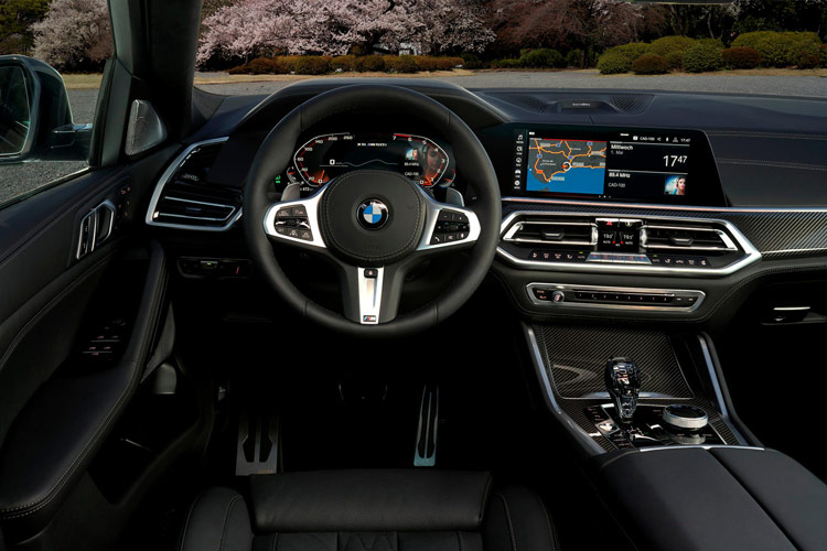 Vô lăng xe BMW X6