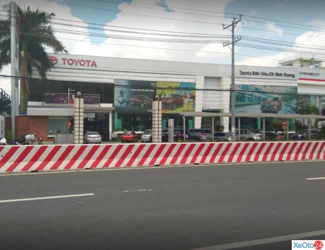 Toyota Biên Hòa chi nhánh Bình Dương