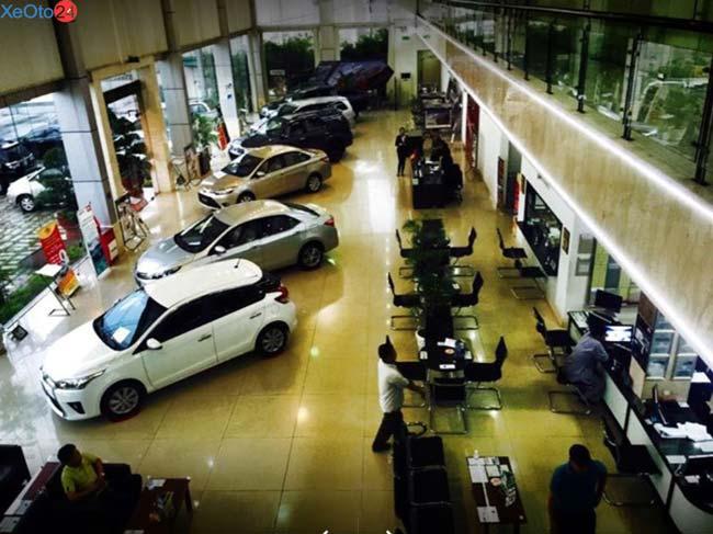 Phòng trưng bày Toyota An Sương
