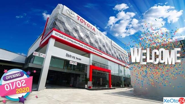 Toyota Đông Sài Gòn chi nhánh Thủ Đức được khai trương vào đầu năm 2020