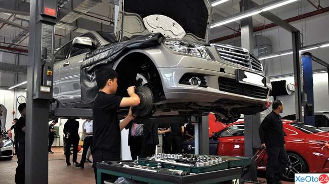 Toyota Thủ Đức thay thế phụ tùng chất lượng cao