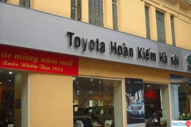 Đại lý xe Toyota chính hãng - công ty Toyota Hoàn Kiếm