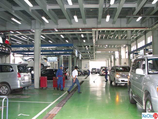 35Toyota Hiroshima Tân Cảng - HT cung cấp các dịch vụ về xe ô tô