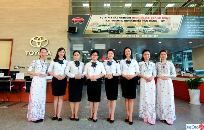 Khách hàng tin cậy lựa chọn Toyota Hiroshima Tân Cảng - HT