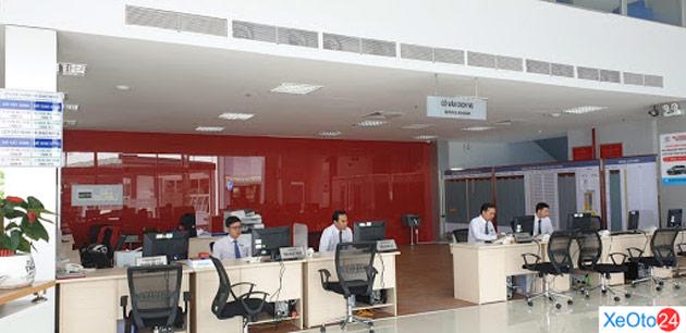Khu vực tiếp đãi và chăm sóc khách hàng