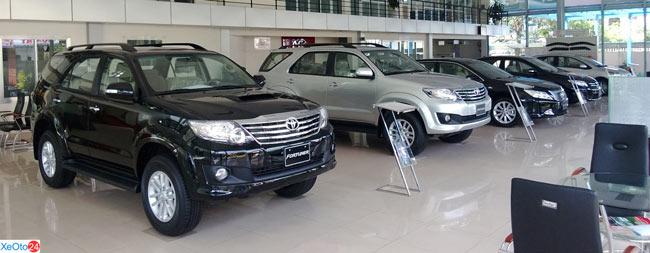 Showroom Toyota Bình Định