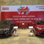 Nhiều loại hình quảng cáo sản phẩm tại Toyota Bình Dương