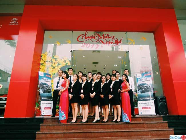 Đội ngũ nhân viên tiềm năng của Toyota Buôn Ma Thuột
