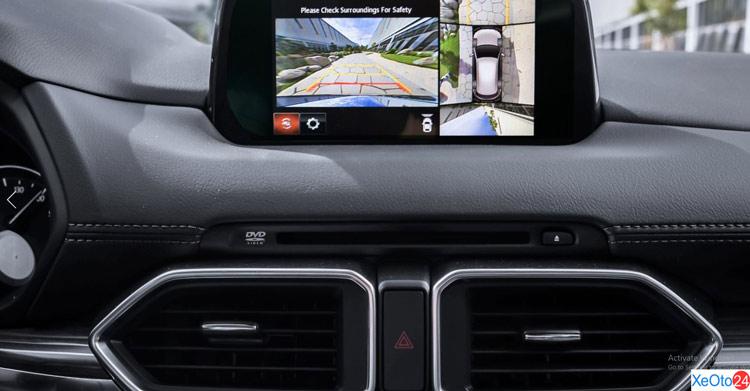 Camera 360 trên xe Mazda CX 5 2020