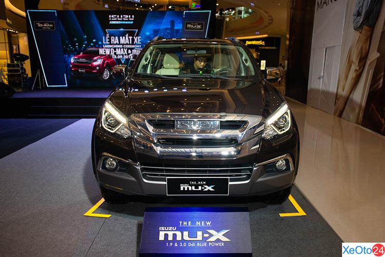 Đầu xe ISUZU MU-X 2020